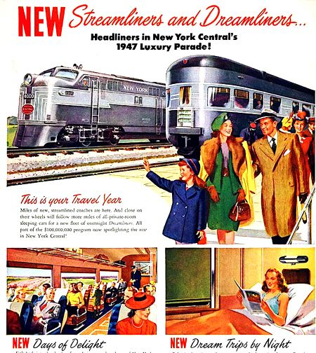 trains, and the outfits they engendered