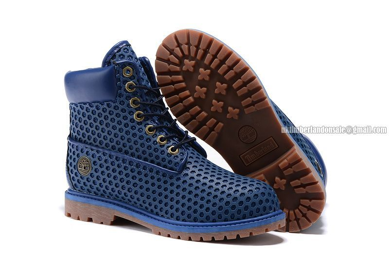 Timberland Women 6 Inch Premium Honeycomb breathable Boot Navy-Blue $ 75.00