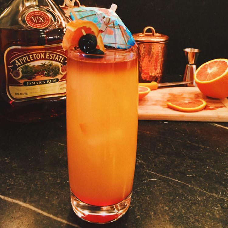 Rum, Mixed Fruit Juice, Coconut Rum