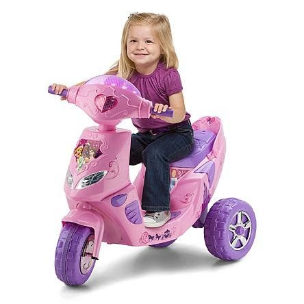 Disney Princess 6 Volt Toddler Atv Battery Powered Operated 3 Wheel