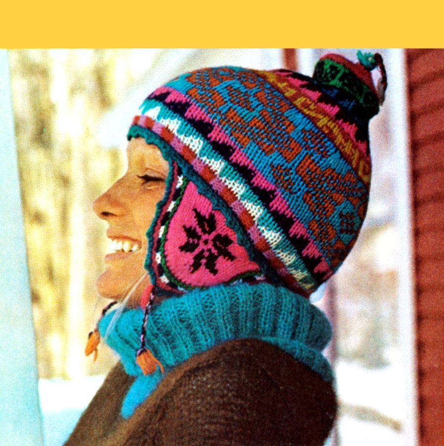 Peruvian knitting and crochet. Peruvian knitting technique