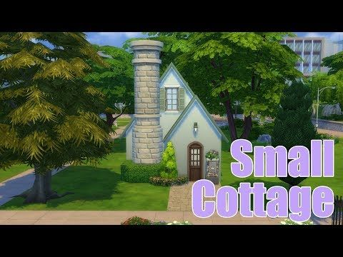 the sims 4 small cottage speed build house building youtube - Cottages To Build
