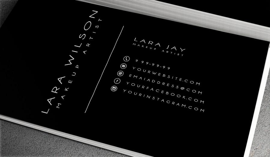 Image result for black and white makeup artist business card ideas image result for black and white makeup artist business card ideas colourmoves