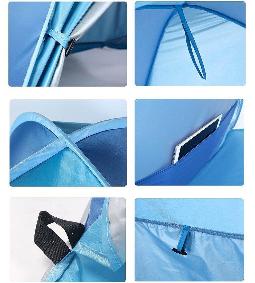 new concept bc556 87a3c Sunba Youth Beach Tent Beach Shade Anti UV Instant Portable ...