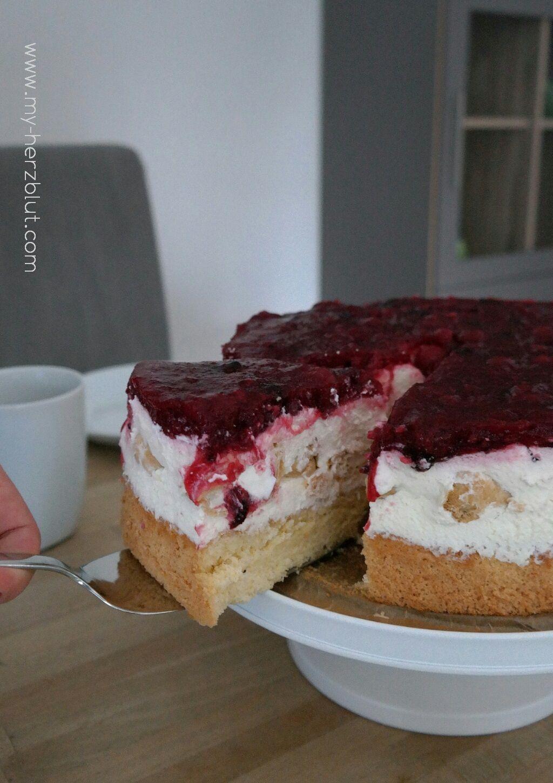 Rote Grutze Torte Rote Grutze Torte Rote Grutze Kuchen Und Backrezepte