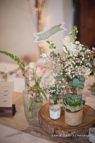 Rustic Wedding Decor Inspiration ♥ Protea and Rustic Fynbos Inspired Wedding at Langverwagt | Confetti Daydreams ♥ ♥ ♥ LIKE US ON FB: www.facebook.com/confettidaydreams ♥ ♥ ♥ #Wedding #RealBride #RusticWedding