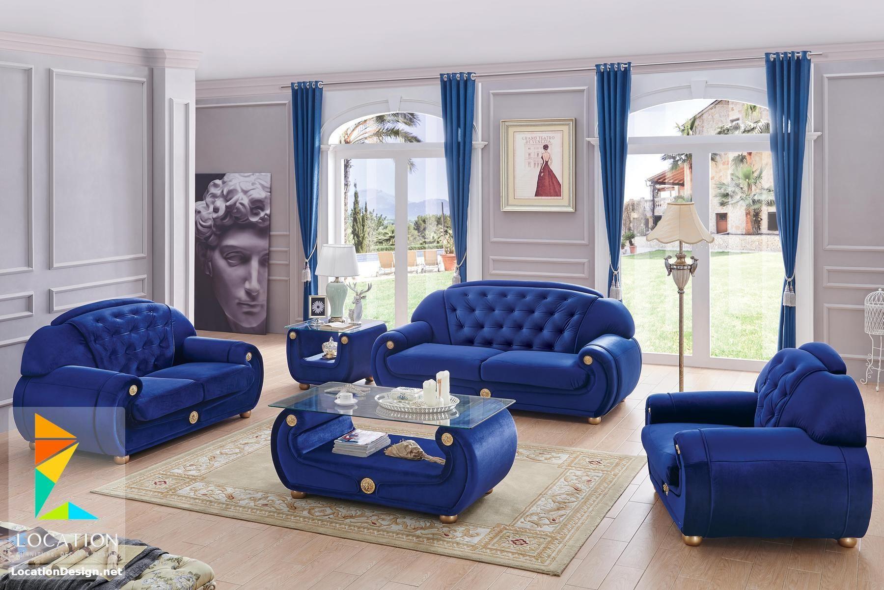 معارض اثاث مودرن أحدث موديلات انتريهات مودرن 2019 2020 Living Room Sets Blue Living Room Sets 3 Piece Living Room Set