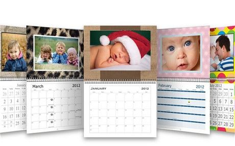 Vistaprint Free Photo Wall Calendar  Birthdays