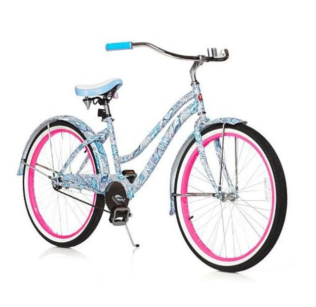 Lilly Pulitzer bicycle #lillypulitzer