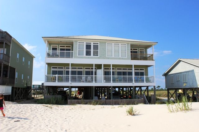 Gulf Ss Alabama Beach House For Front