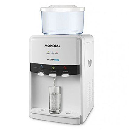 Mondial BB-05-Dispenser di acqua fredda, naturale o calda, colore: bianco