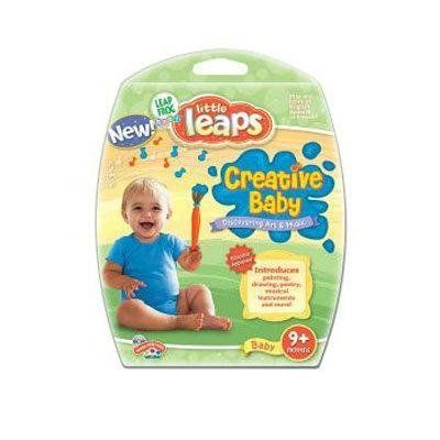 Little Leaps SW: Baby Creations by LeapFrog. $4.00. From the Manufacturer                Creative Baby interactive learning disc introduces babies to music, poetry, art and more while providing an engagement framework for together-time play. Babies share in the fun as they paint, draw, sing, play and dance their way through five creative learning activities!    What it Teaches:  * Creativity                                    Product Description                There are s...