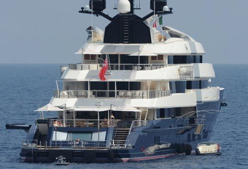Seven Seas Yacht Steven Spielberg In Vacanza In Italia Cinema