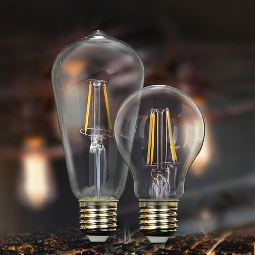Antique style classic edison filament cob led bulbs chandelier