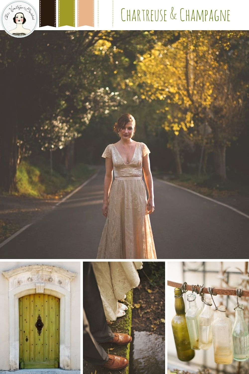 Chartreuse champagne autumn wedding inspiration in shades of chartreuse champagne autumn wedding inspiration in shades of green champagne ombrellifo Images