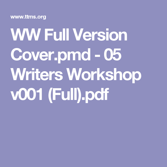 WW Full Version Cover.pmd - 05 Writers Workshop v001 (Full).pdf