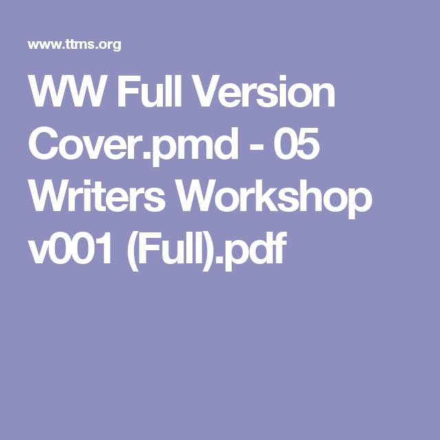 WW Full Version Cover.pmd - 05 Writers Workshop v001 (Full).pdf