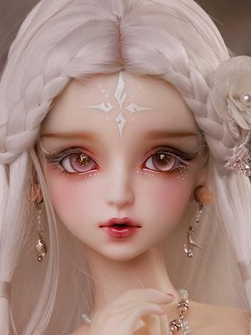 as agencybjd limited edition hua rongwhite girl 62cm