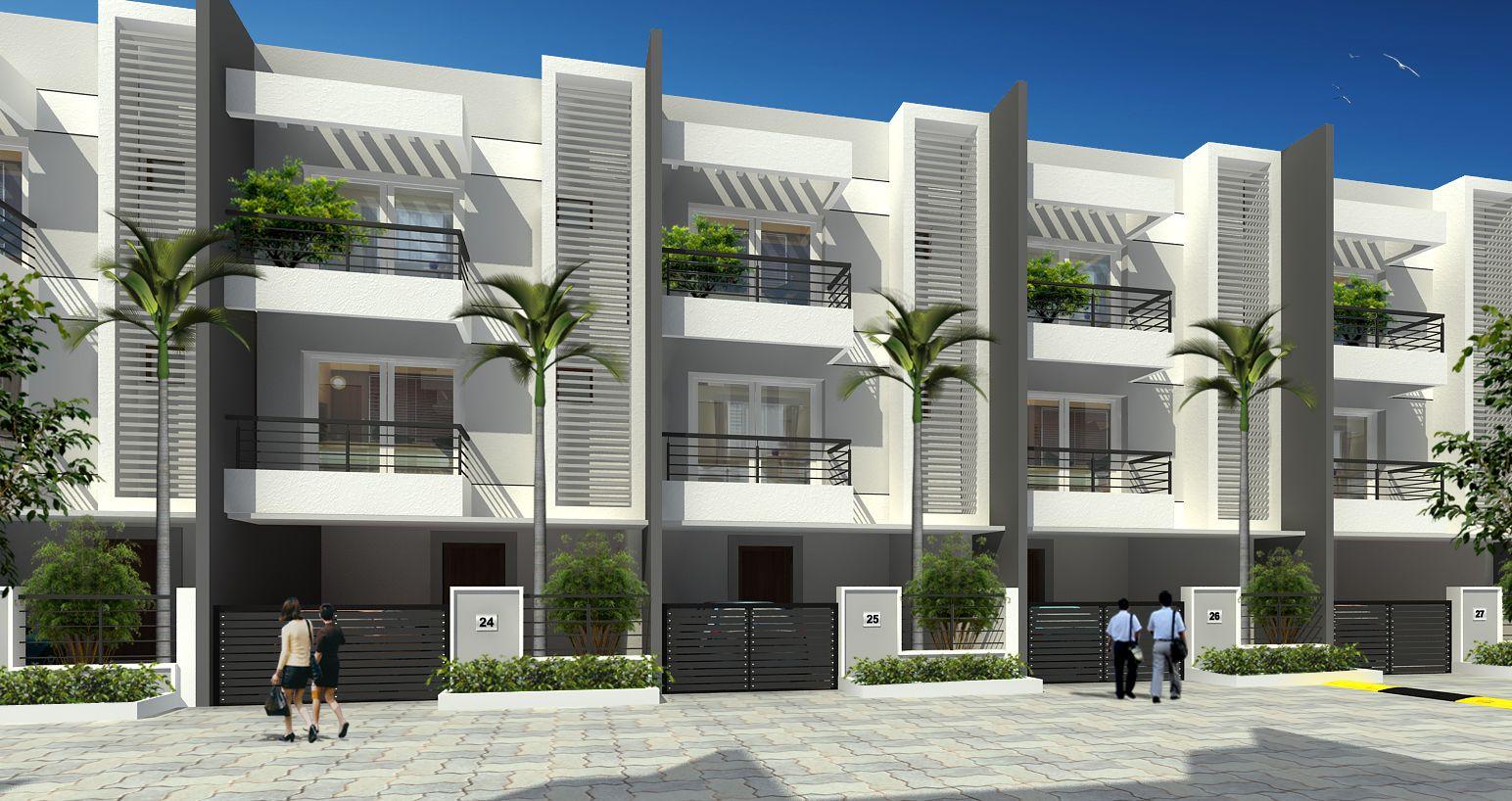 Modern Row House Elevation Google Search Row House Design Townhouse Designs Duplex House Design
