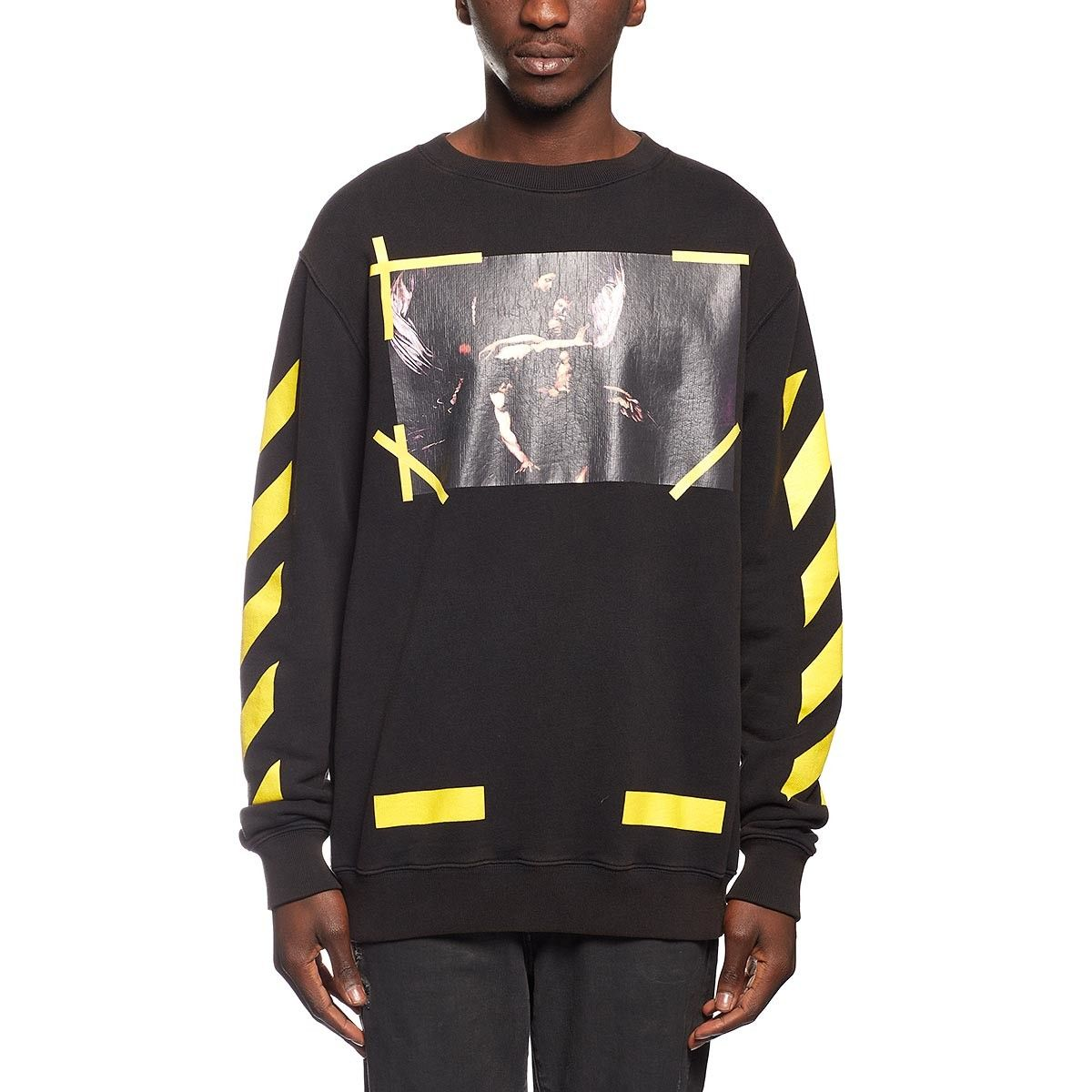 7 Opere sweatshirt from the F/W2016-17 Off-White c/o Virgil Abloh collection in black