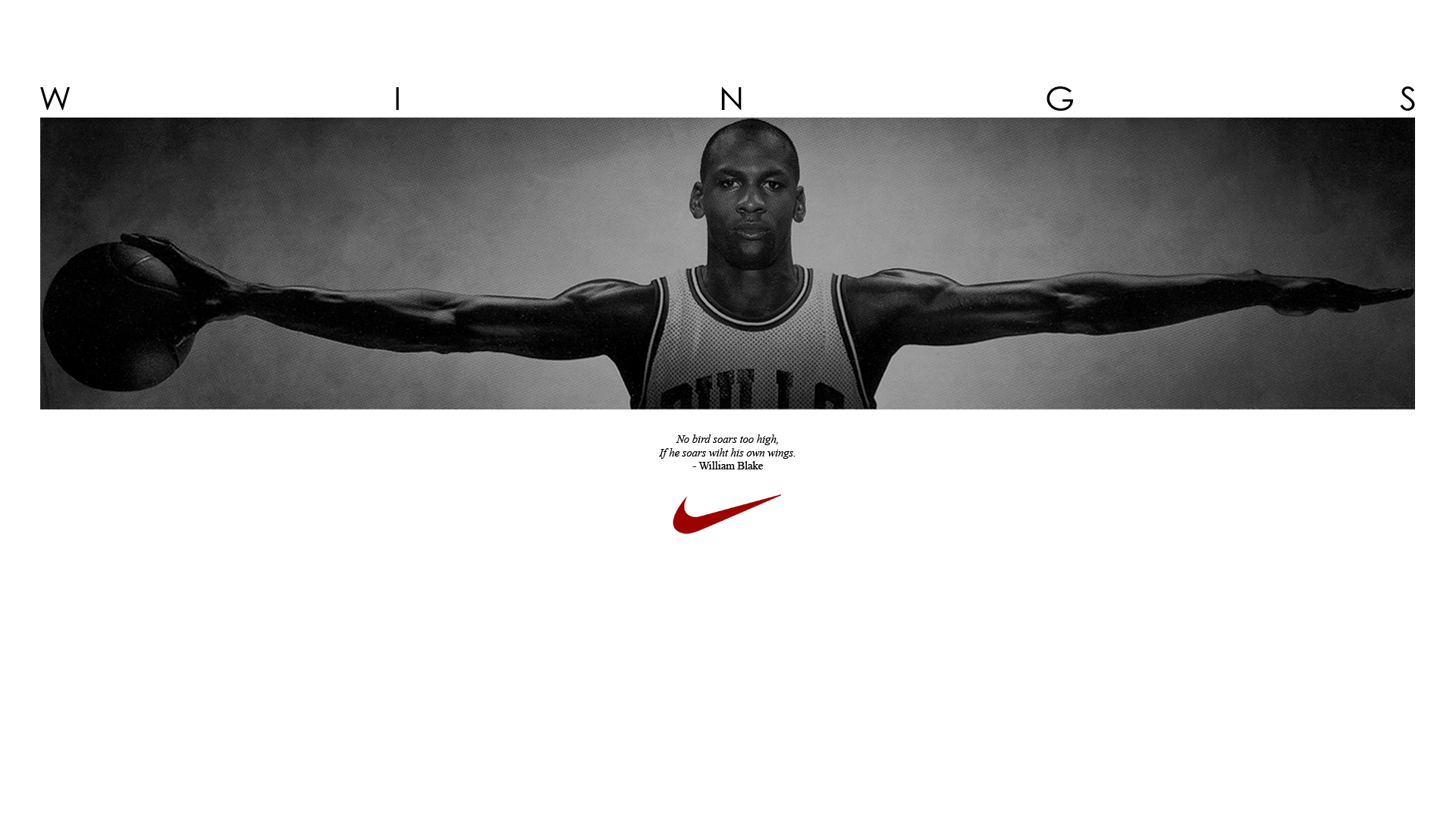 b4acf6df176 Another iconic Michael Jordan ad for Nike. It shows how long Jordan's wing  span is and why he is called