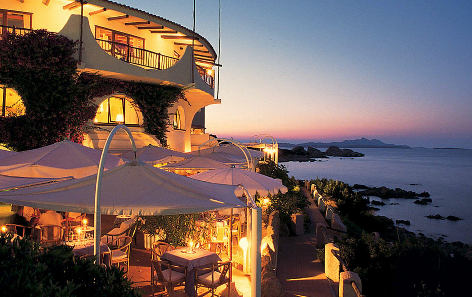 Situated On The Spectacular Beach At Baia Sardinia Club Hotel