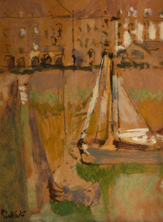 Walter Richard Sickert - Dieppe Harbour, France