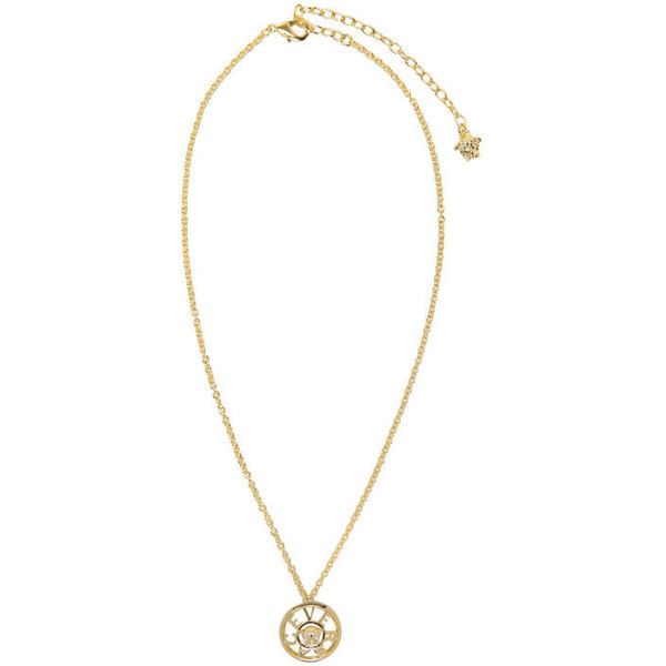 Versace gold small pendant necklace 5030 mxn liked on polyvore versace gold small pendant necklace 5030 mxn liked on polyvore featuring jewelry aloadofball Image collections