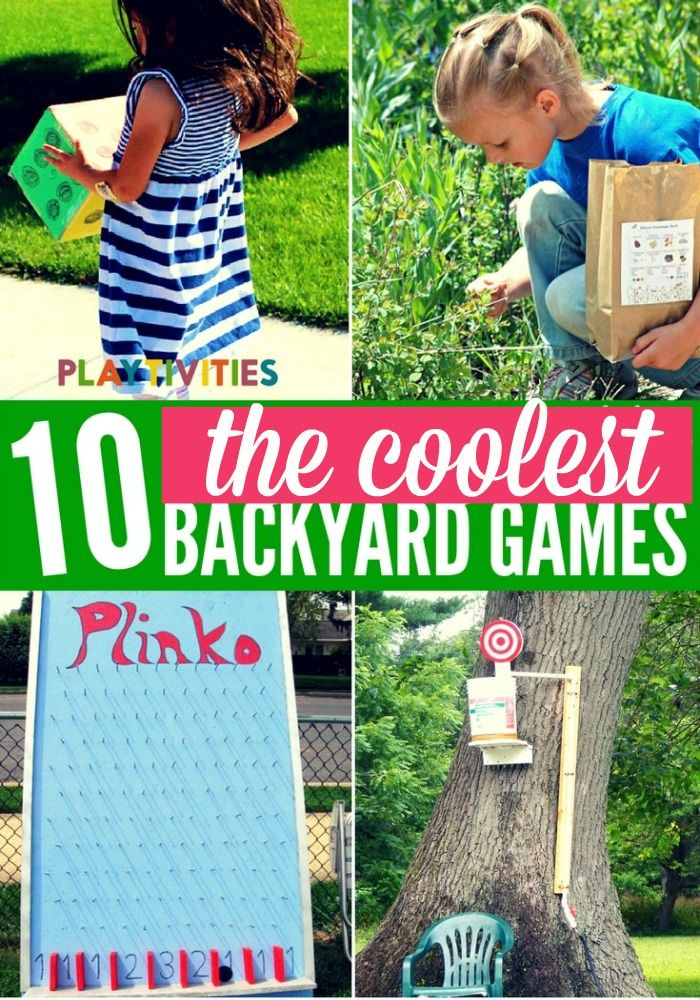 Delicieux Super Cool Backyard Games For Kids