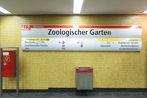 Ideal Endbahnhof is a photographic series by Kate Seabrook documenting Berlin us entire U Bahn system end to end one line at a time