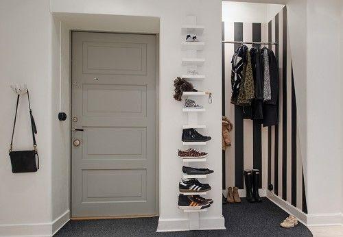 Emejing Couleur Porte Interieure Avec Mur Blanc Gallery - Design