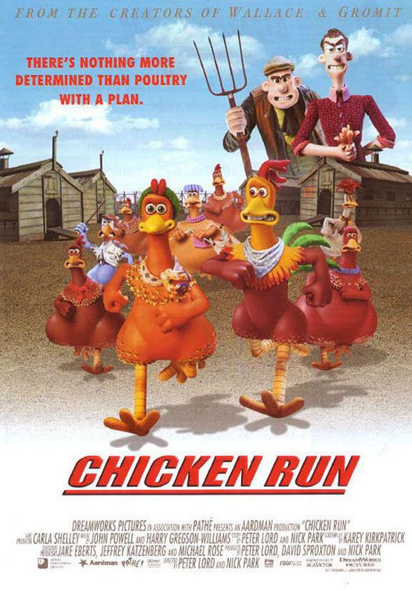 Evolution Of Animation Film Posters From 1937 To Present Chicken