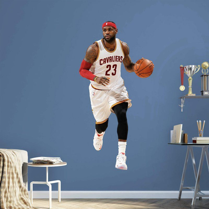 e77e7f2c4732 Fathead NBA Cleveland Cavaliers LeBron James Wall Decal - 22-20536 ...