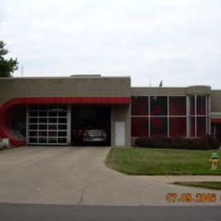 Full Frontal Fire Station 3 Columbus In With Images Fire Station Outdoor Decor