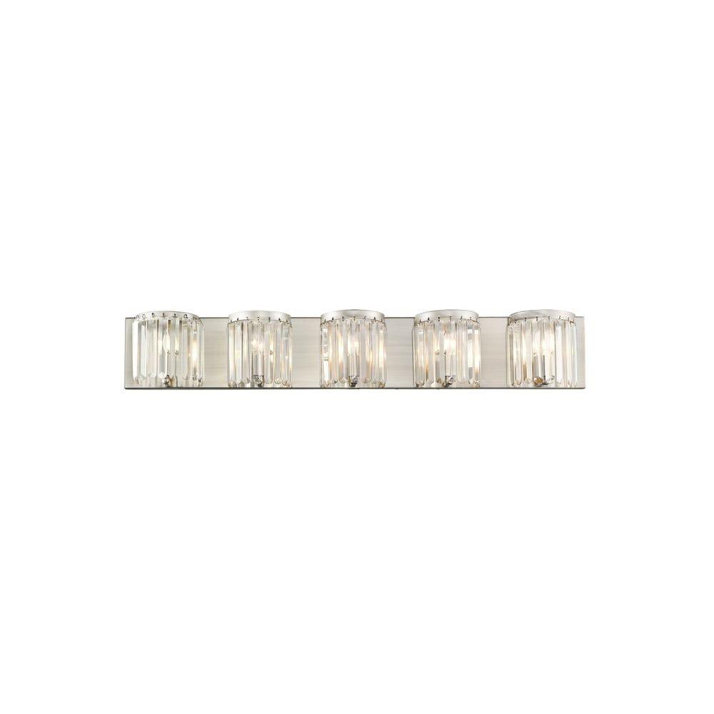 Photo of Livex Lighting Ashton Brushed Nickel Five-Light Vanity – Brushed Nickel