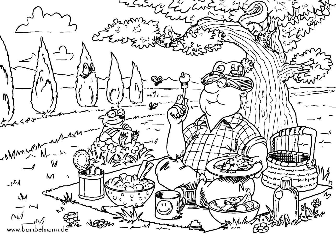 ausmalbild_picknick.jpg (9×9)  Die unendliche geschichte