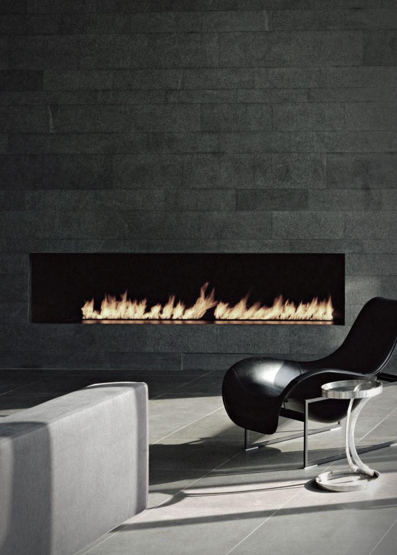 Modern fireplace...