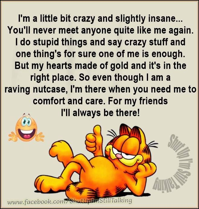 I Ll Always Be There Life Quotes Quotes Quote Crazy Life Quote Garfield Friendship Quotes Friend Poems Friendship Love Messages Good Morning Quotes