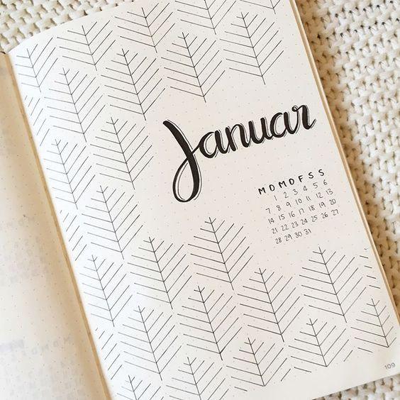 25 idées de mises en page pour votre Bullet Journal + les indispensables
