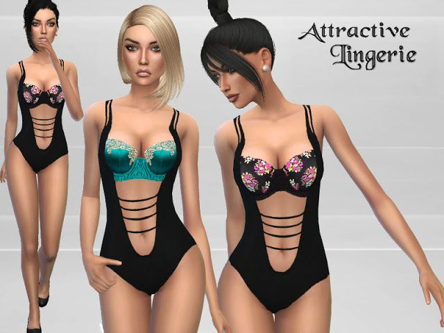 Sims 4 CC s - The Best  Lingerie by Puresims  55c291b55