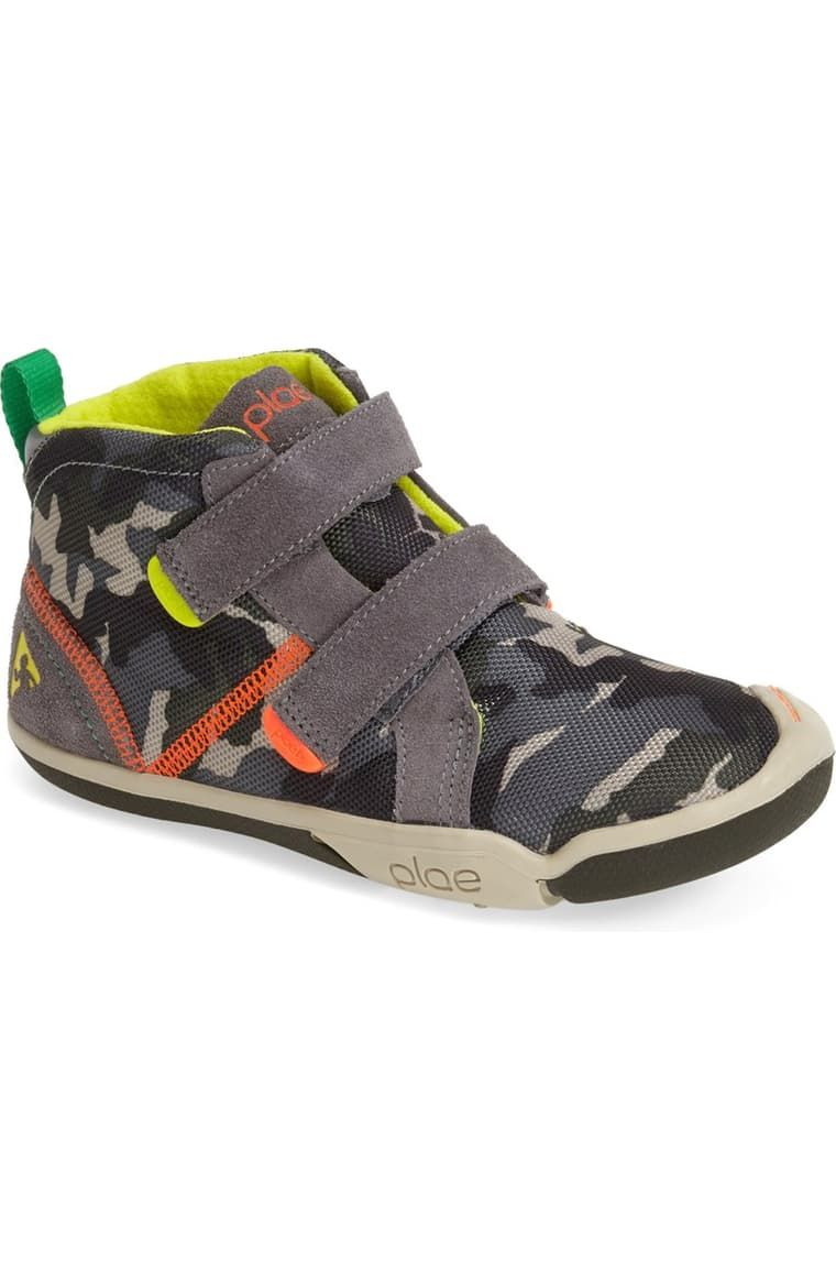 PLAE 'Max' Customizable High Top Sneaker (Toddler & Little ...