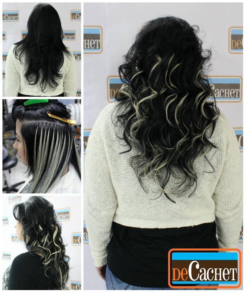 Extensiones de cabello natural dise o de color for Disenos de pelo
