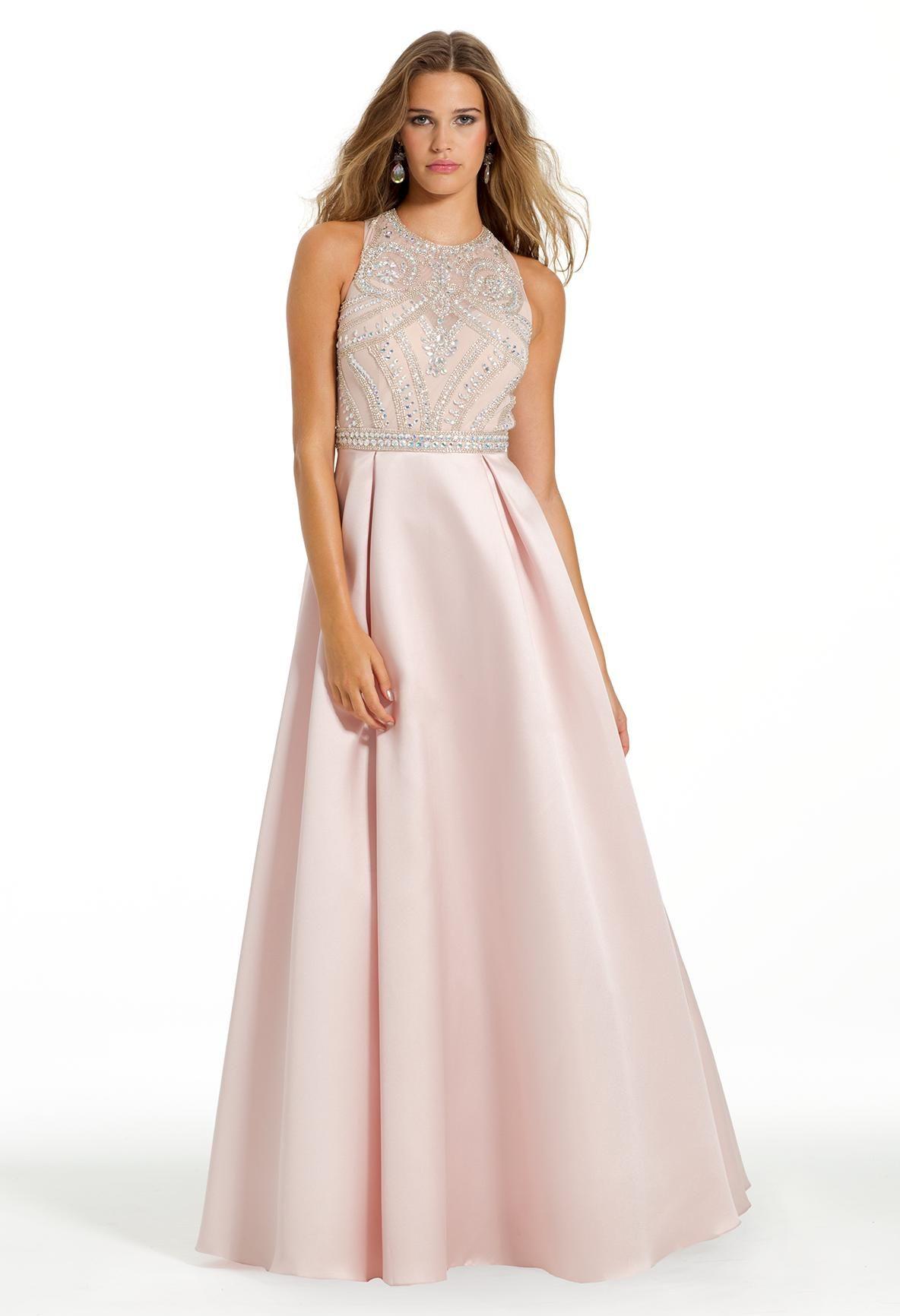 Ab bead illusion bodice dress illusions prom dresses and bodice