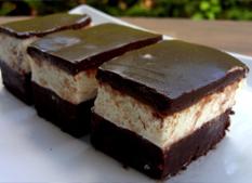 Smotanovo-čokoládové kocky