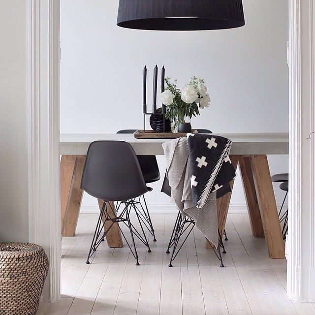 32 More Stunning Scandinavian Dining Rooms: The Most Beautiful Space. A Scandinavian Dream By @synne_k