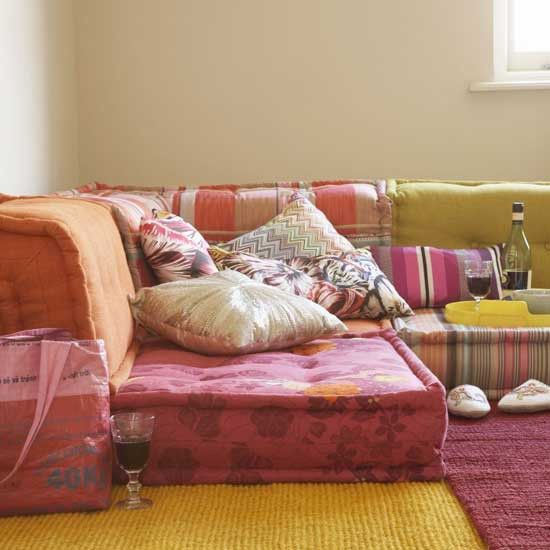 Get The Look Bohemian Floor Cushions Floor Couch Floor Seating