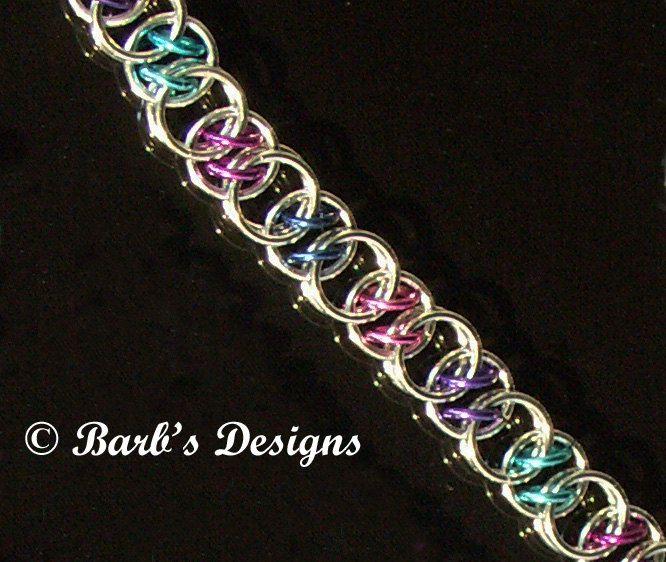 Best 25+ Chainmaille Bracelet Ideas On Pinterest