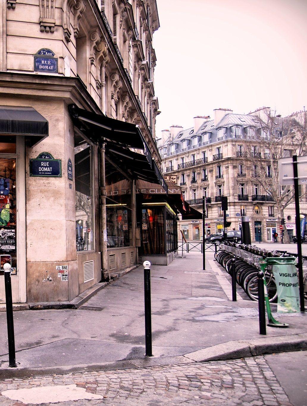 Latin Quarter, Rue Domat, Paris V