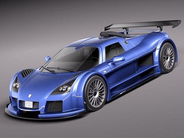 Gumpert Apollo Sport 3d Model Super Cars Model