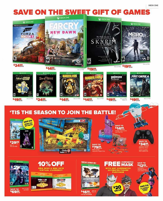 Gamestop Black Friday Ad Scan Deals And Sales 2019 Black Friday Ads Black Friday News Black Friday